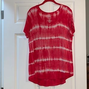 Maurices 24/7 T-shirt:  Large Tie Dye